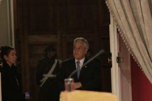 El Presidente Sebastián Piñera se mostró de acuerdo en una eventual candidatura de Evelyn Matthei en reemplazo de Pablo Longueira, quien se bajó este miércoles de la carrera presidencial afectado por un cuadro de depresión. Foto:AGENCIA UNO. Imagen Por: