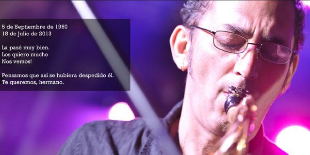 Muere el saxofonista de Los Pericos, Horacio Avendaño
