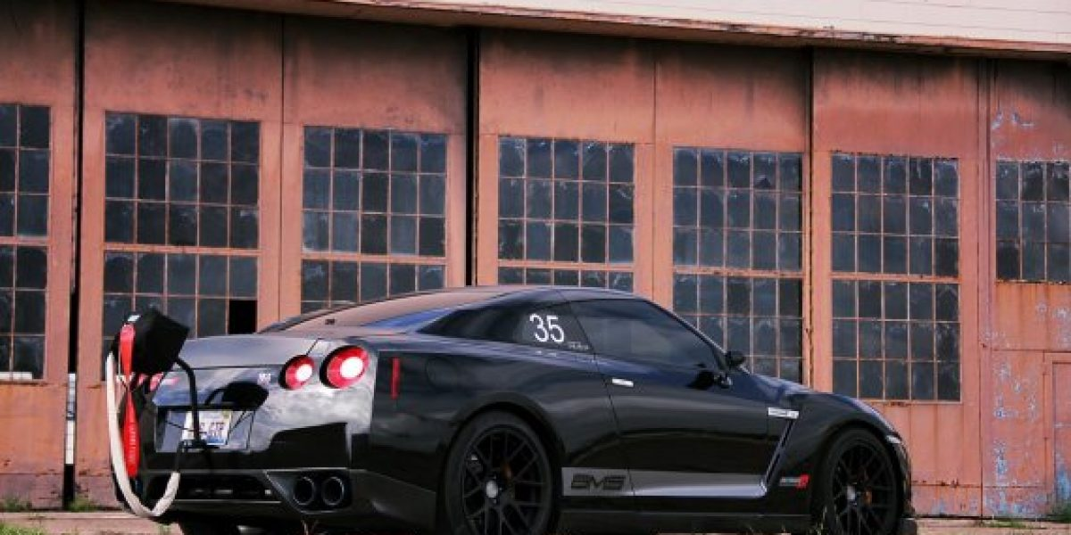 El Nissan GT-R de 1700 caballos de potencia