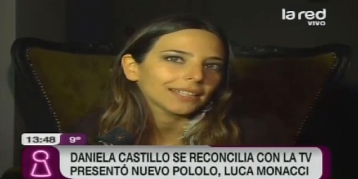 Daniela Castillo presentó a su pololo tras dos años de relación