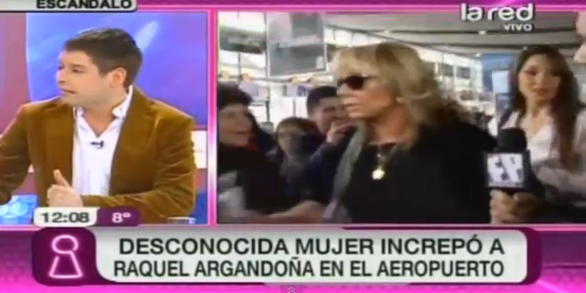 Entregan más detalles de la polémica de Raquel Argandoña en el aeropuerto