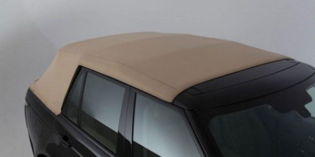 FOTOS:Así es el Range Rover NCE 2013 descapotable