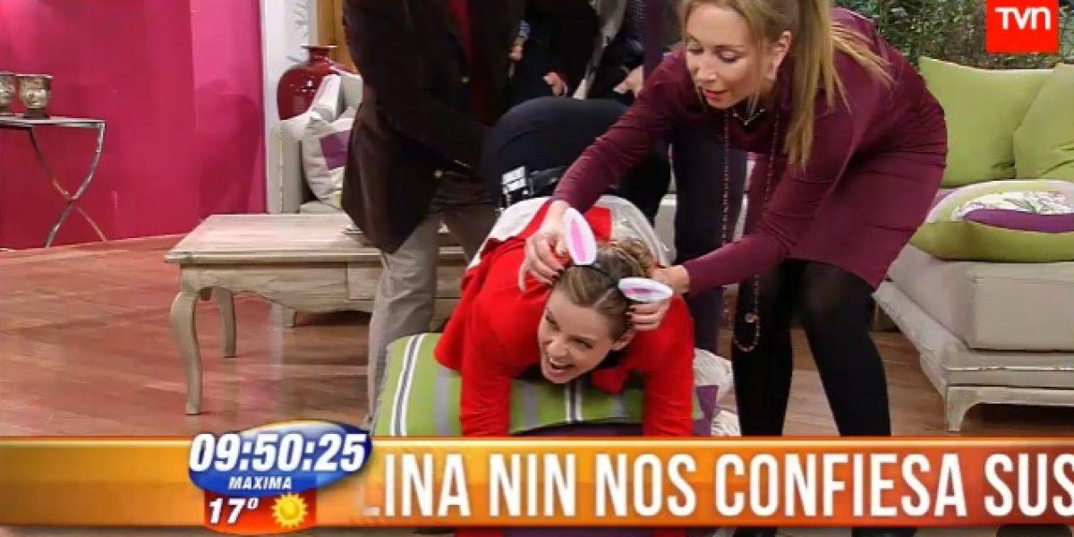 Karen Doggenweiler desafía a Claudia Conserva a hacer
