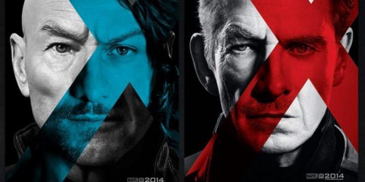 Magneto y Profesor X protagonizan los primeros afiches de