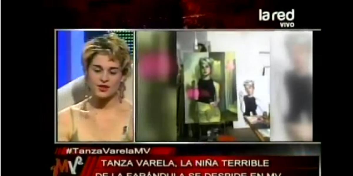 Tanza Varela se despidió de la TV en