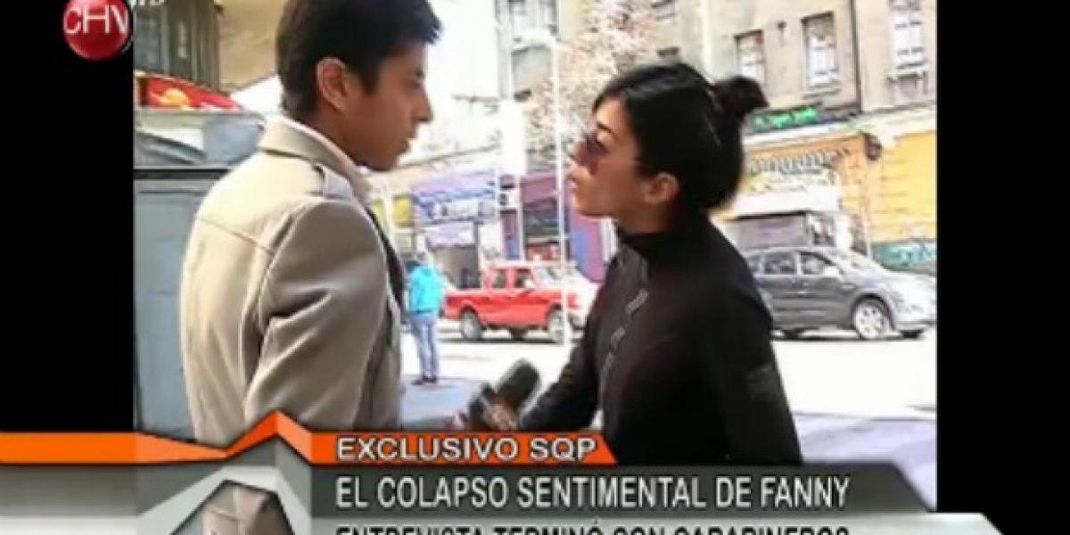 Fanny vive su día de furia y denuncia a periodista de SQP