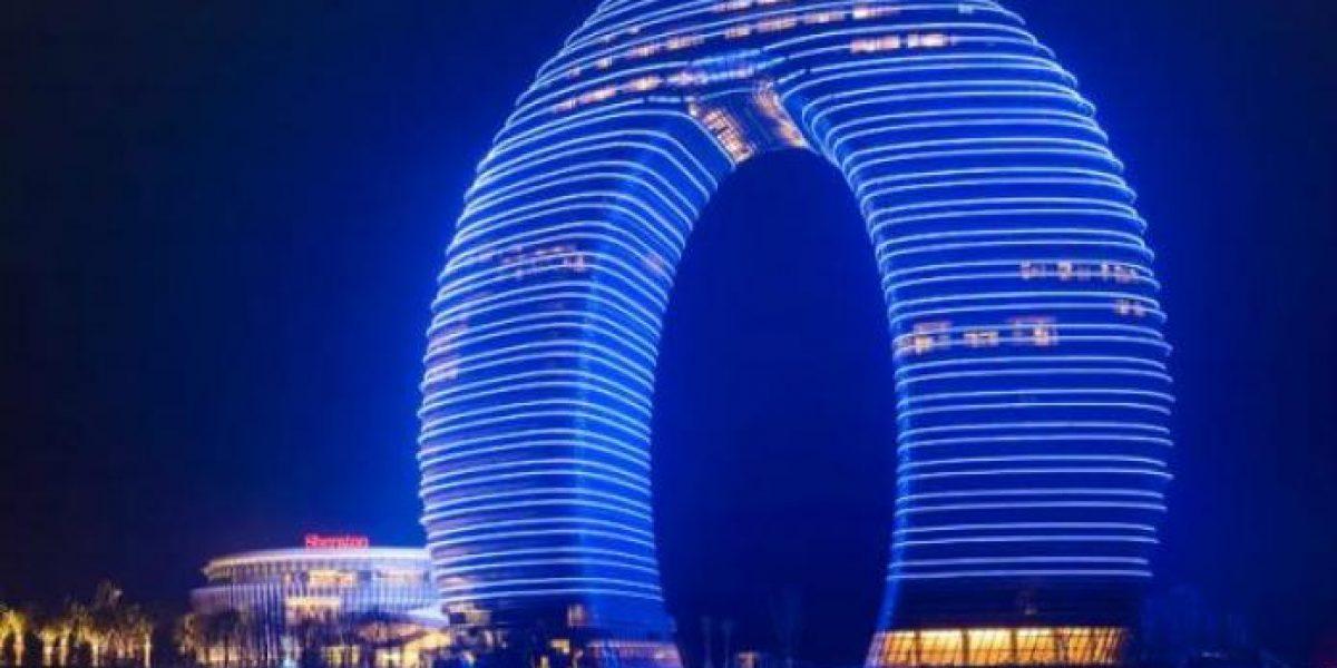 Galería: este es el hotel con forma de dona