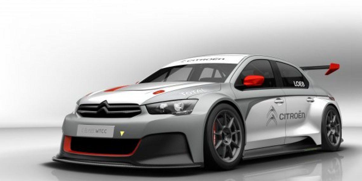 El espectacular automóvil que utilizará Loeb en el WTCC