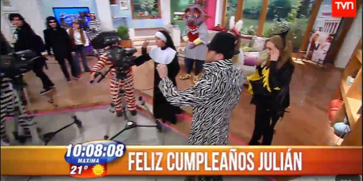 BDAT celebró con fiesta de disfraces cumpleaños de Julián