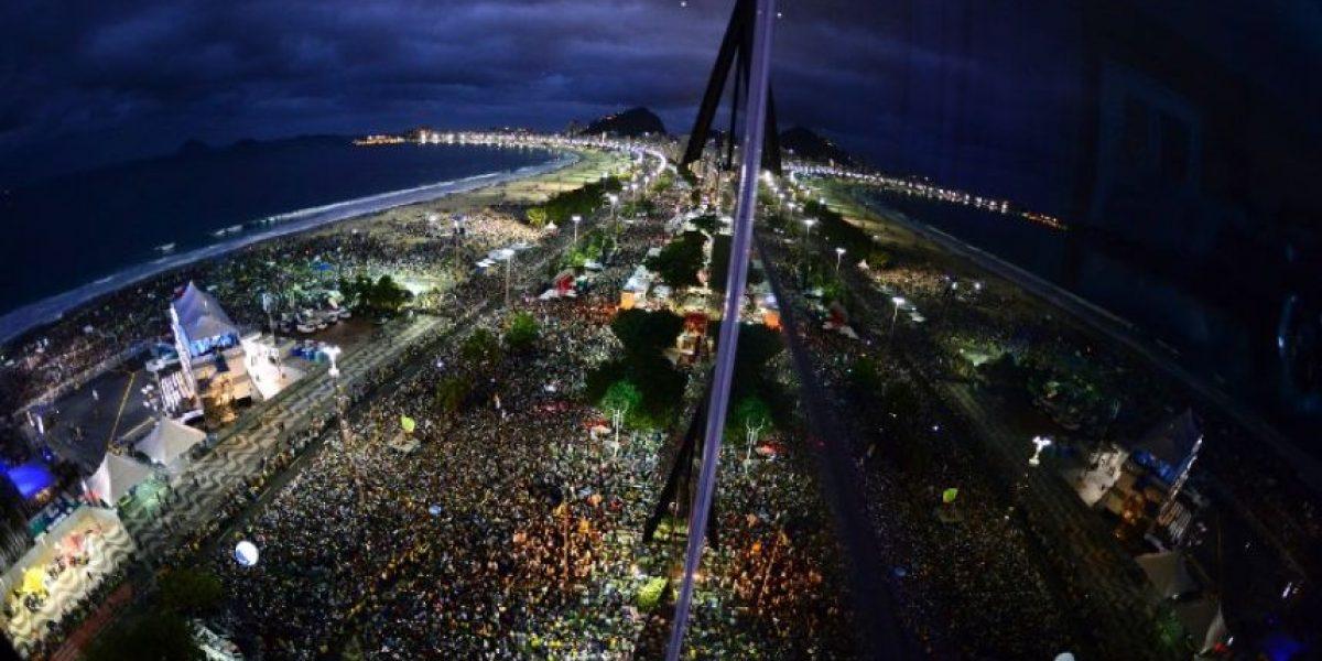 Fotos: Así se veía Copacabana en la visita del Papa Francisco