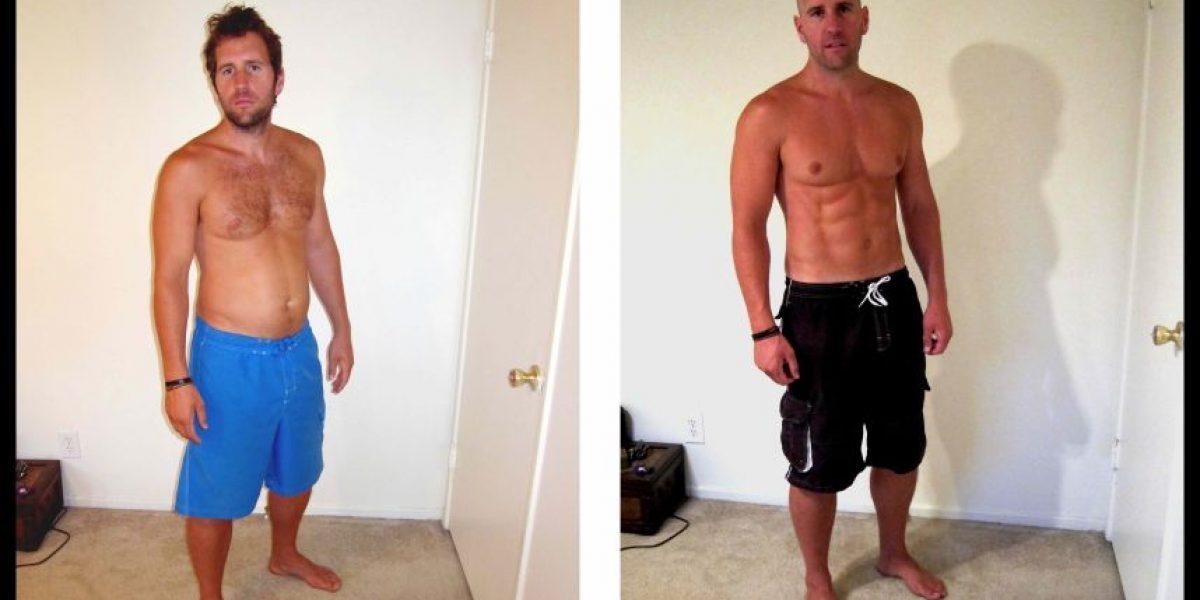 Personal trainer revela la verdad de las fotos con impactantes cambios