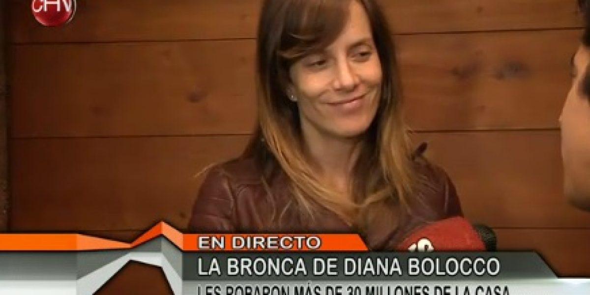 Diana Bolocco revela que su hijo Facundo estaba en casa en el momento del robo