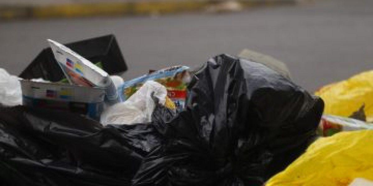 [FOTOS] Así se vive el primer día del paro nacional de los recolectores de basura