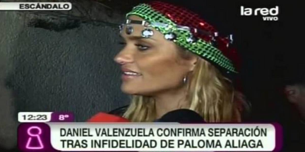 Todos los detalles de la separación de Daniel Valenzuela y Paloma Aliaga