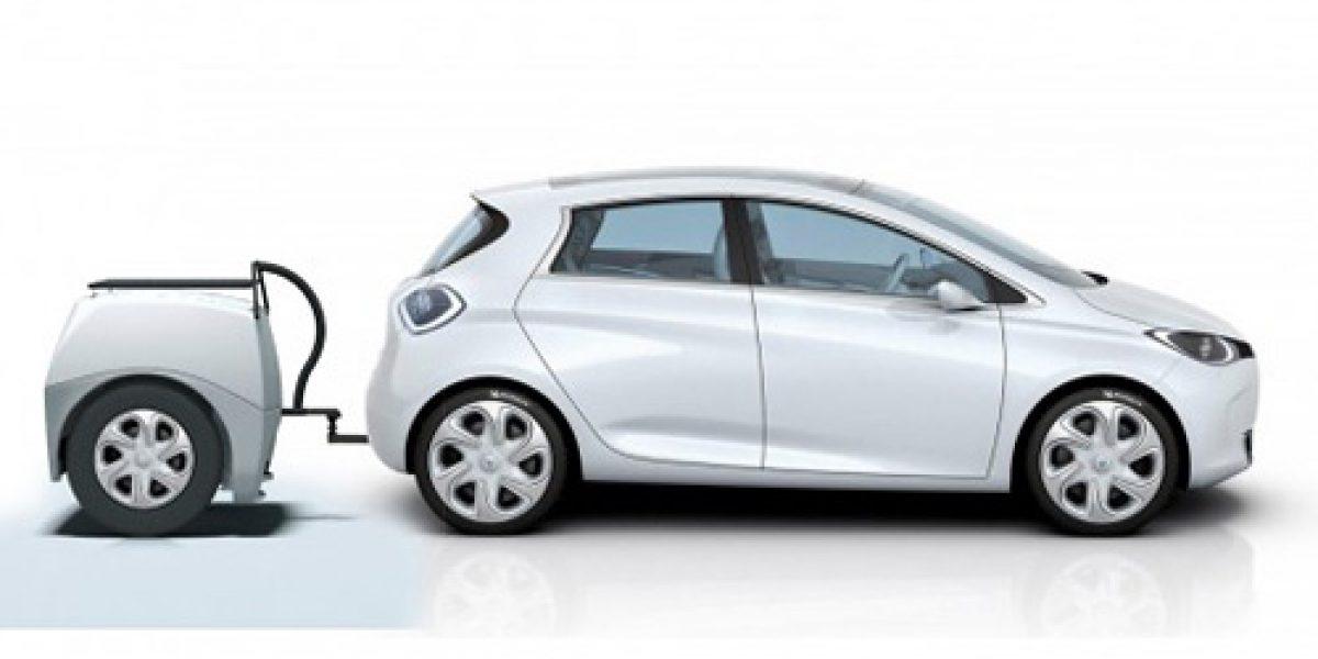Punto de recarga para automóviles eléctricos portátil