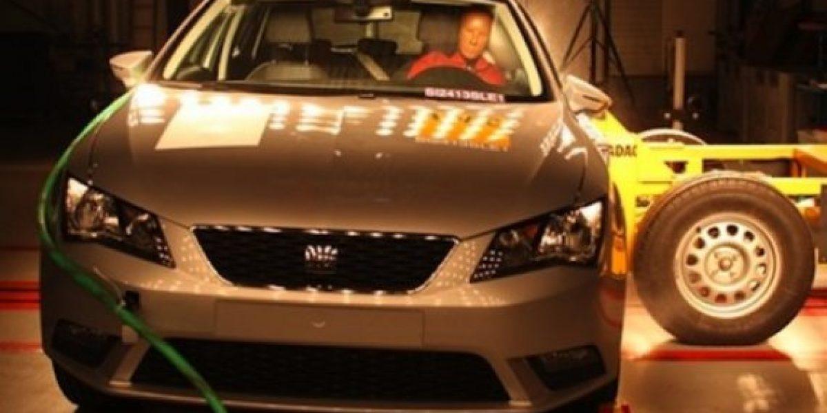 FOTO Y VIDEO:El Seat León recibió 5 estrellas en el Latin NCAP