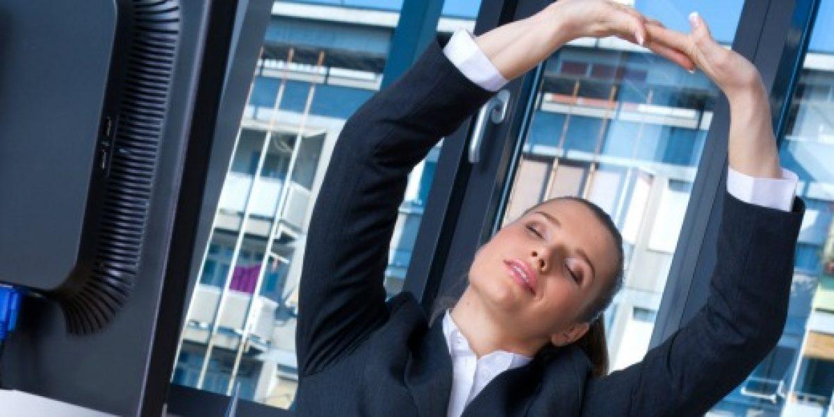 Tips para evitar el sedentarismo en la oficina