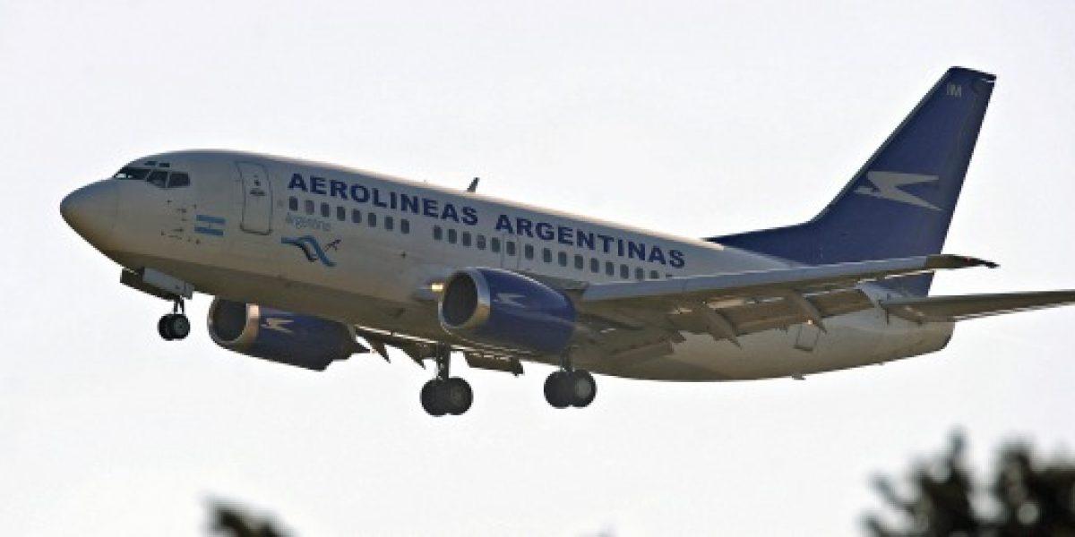 Gobierno trasandino pide a LAN interceder para que Aerolíneas Argentinas opere vuelos locales en Chile