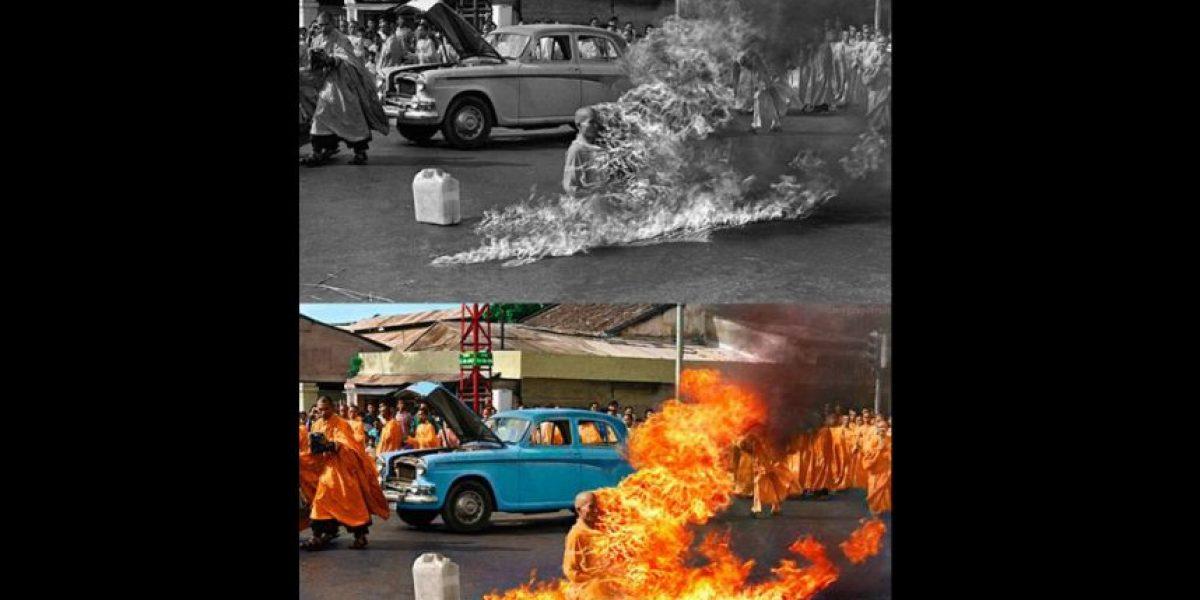 [FOTOS] 11 imágenes icónicas del pasado restauradas y a todo color