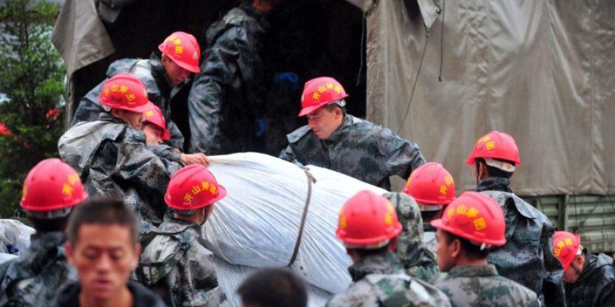 FOTOS: Sismo de 5.9 en China deja 4 muertos y más de 9 mil damnificados
