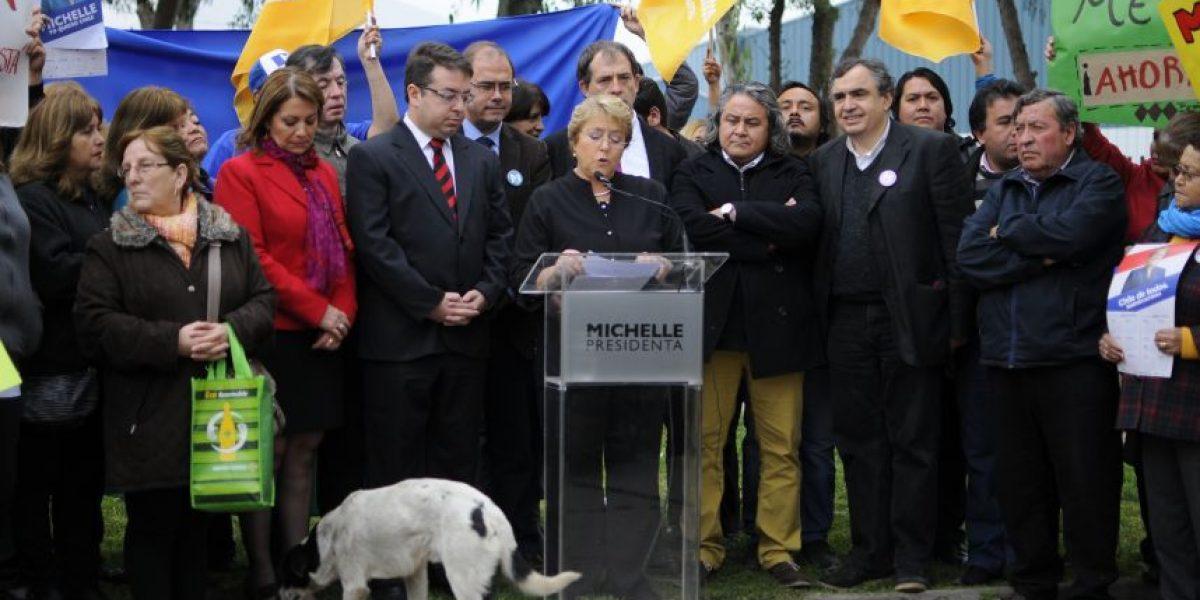 FOTOS: Bachelet anuncia que extenderá Línea 3 del Metro