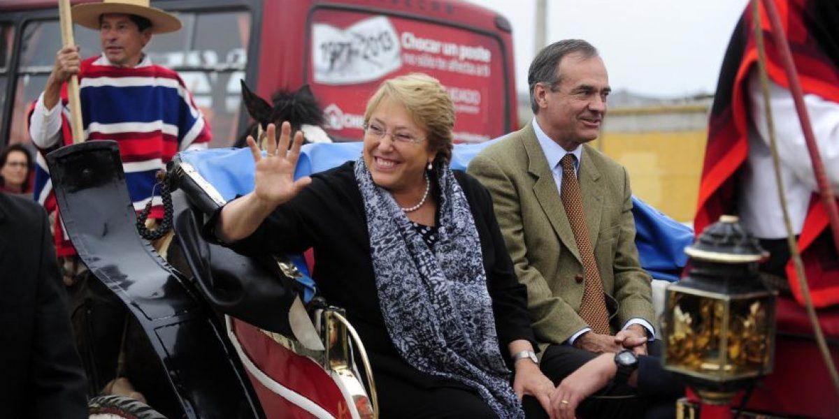 De todo hubo en la visita de Bachelet en Limache: Mira estas imágenes