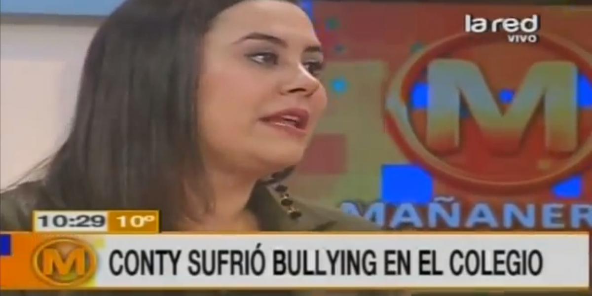 Conty Ganem revela dramático episodio de bullying que sufrió en el colegio