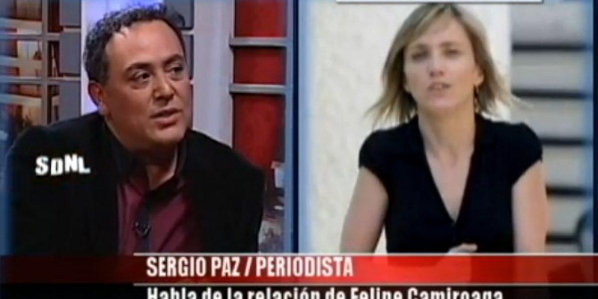 Biógrafo de Camiroaga revela detalles de su relación con Fernanda Hansen