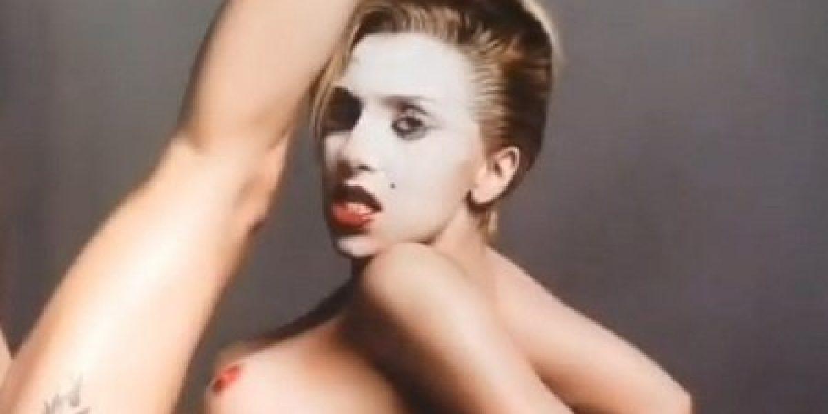 Aparecen nuevas y sugerentes fotos de Lady Gaga desnuda