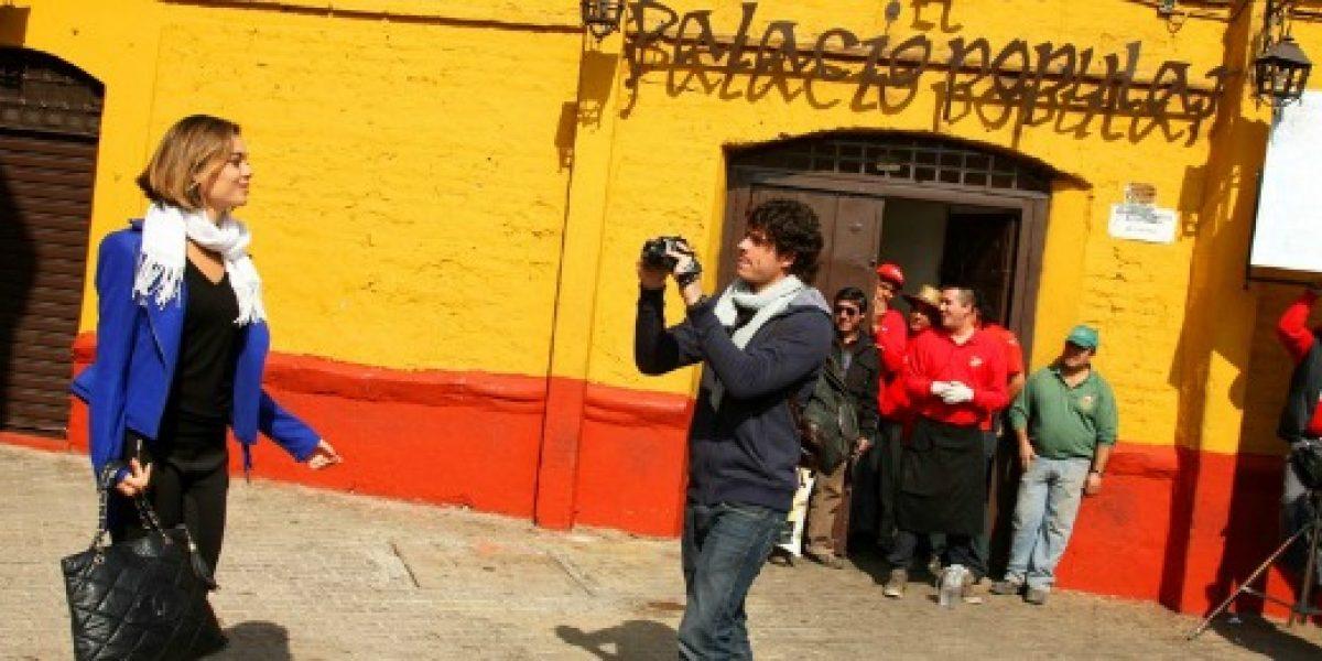 Promueven el turismo en Chile a través de grabación de teleserie brasileña