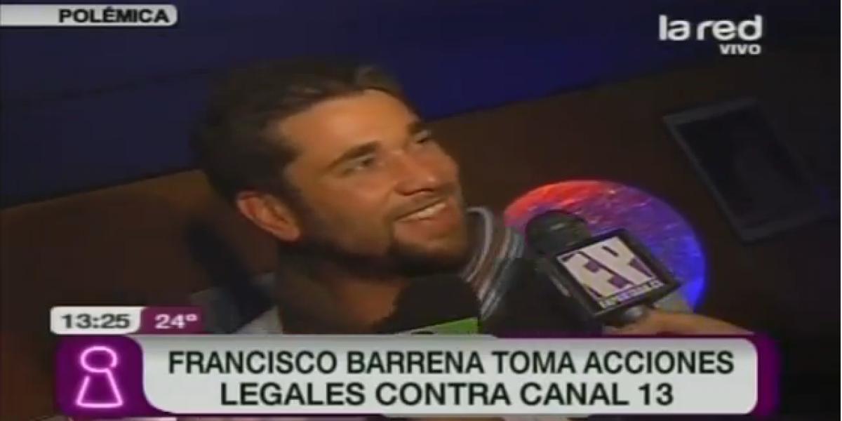 Ex chico reality toma acciones legales contra Canal 13 por