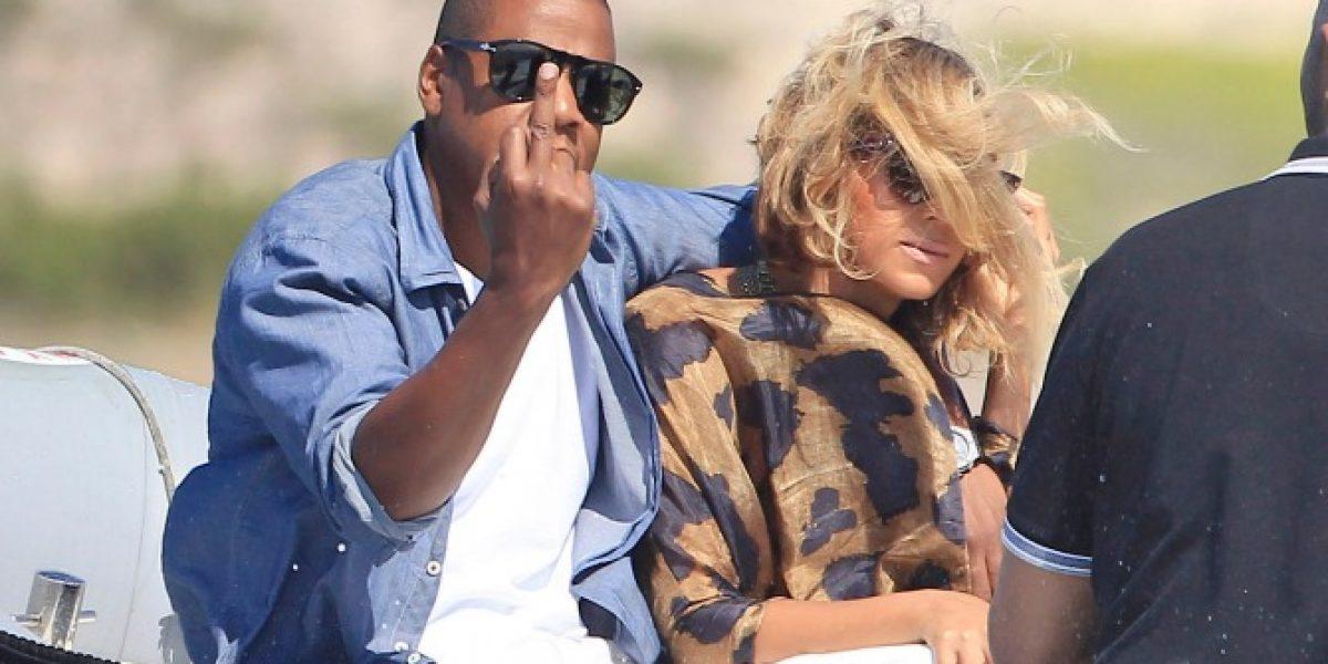 Así respondió Jay-Z a los paparazzis en Ibiza