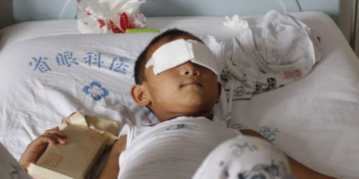 FOTOS: Tía es acusada de arrancarle los ojos a niño de 6 años en China