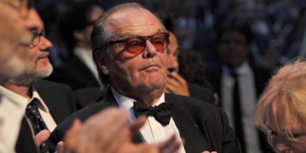 Entorno de Jack Nicholson desmiente su retiro de la actuación