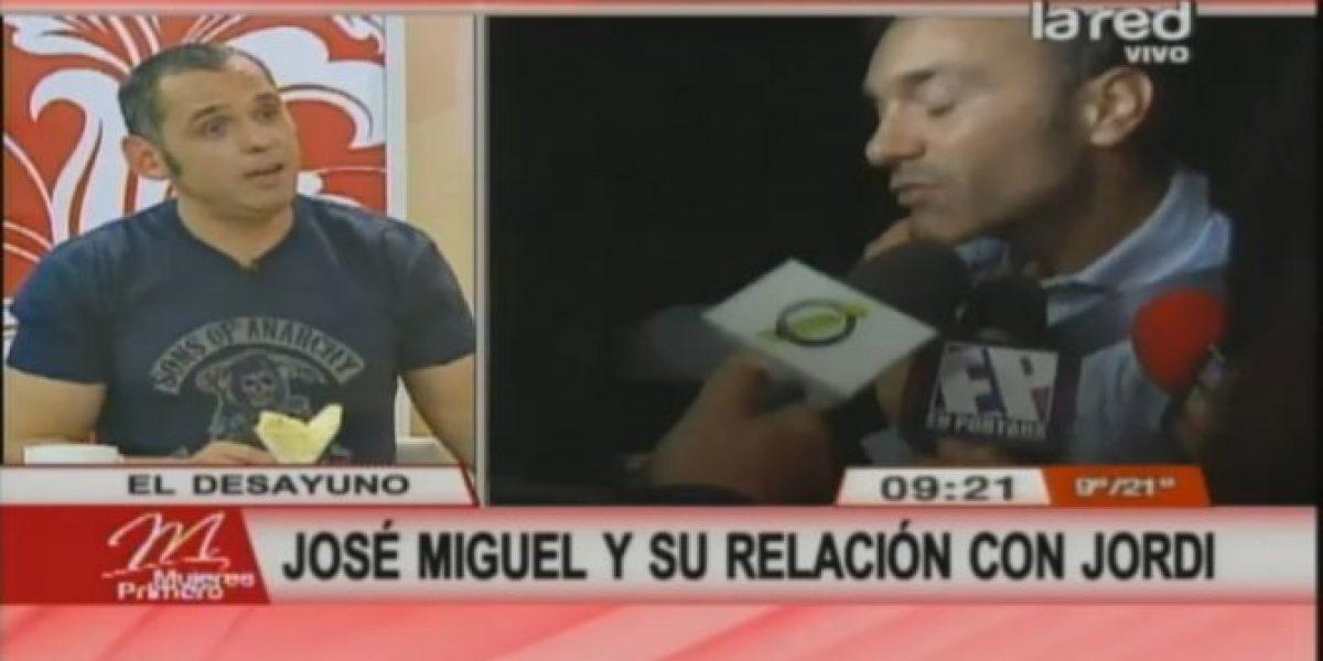 José Miguel Villouta revela detalles de su relación con Jordi Castell