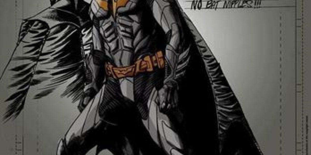 Aparece el primer boceto de Batman con Ben Affleck