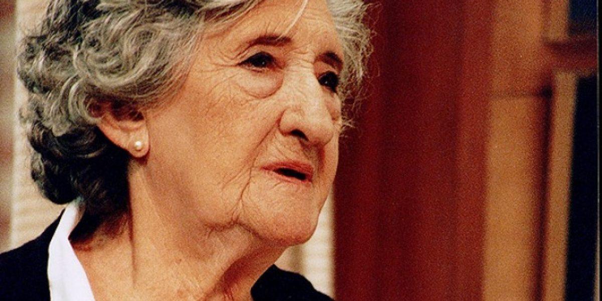 A los 98 años muere conocida actriz chilena Mireya Véliz