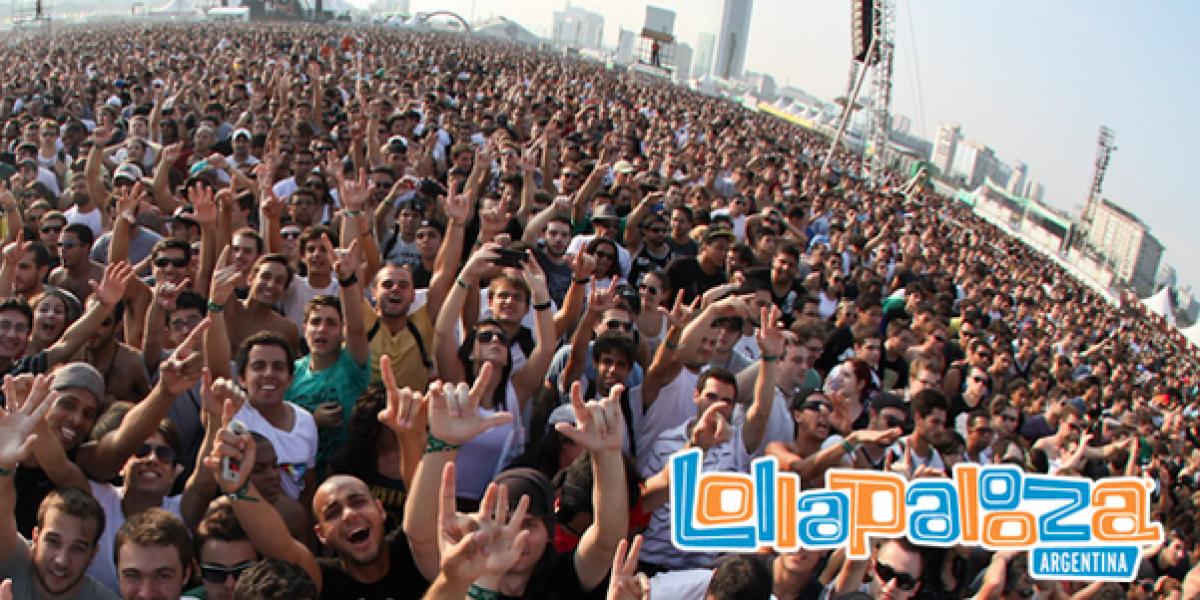 Lollapalooza se expande por Sudamérica: Anuncia su llegada a Argentina