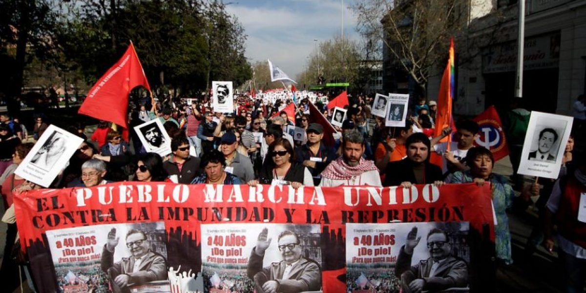 [FOTOS] Así se vivió la marcha por los Derechos Humanos