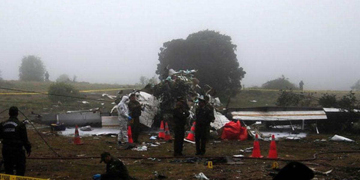 FOTOS: Revelan la posible causa del accidente aéreo en la Región de Valparaíso