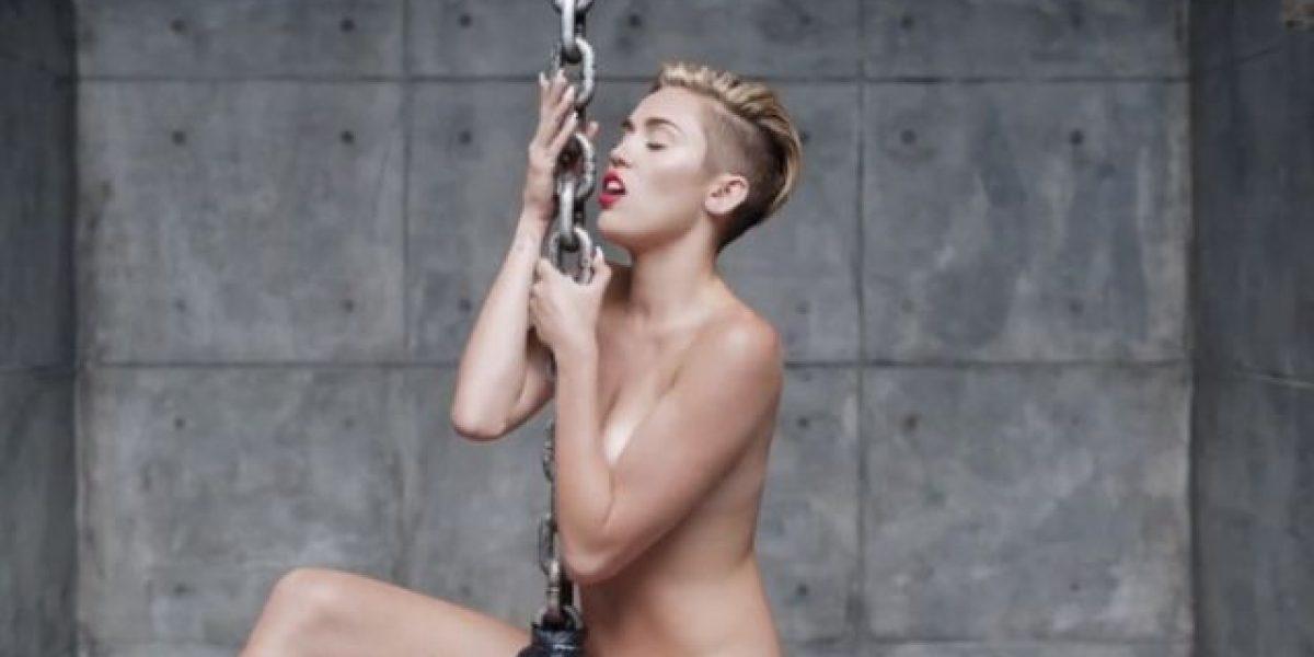 Miley Cyrus se desnuda en su nuevo video