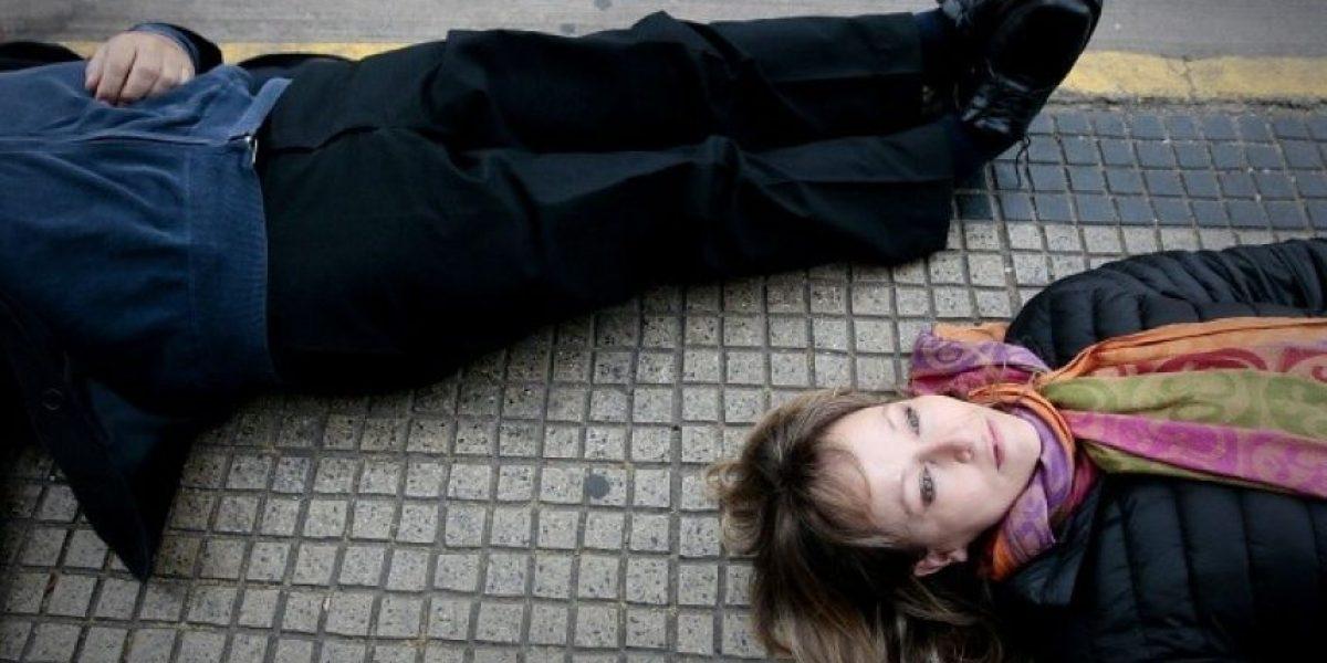 FOTOS: Realizan singular exposición en la Alameda por el 11 de septiembre