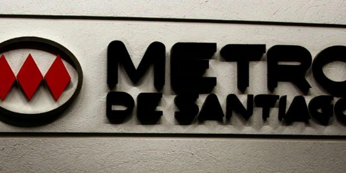 Metro de Santiago tuvo ganancia bruta por $10.426 millones en el primer semestre de 2013