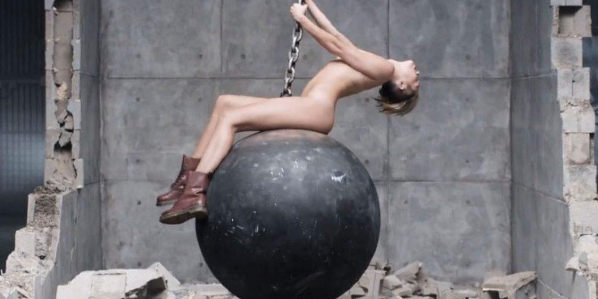 El desnudo en imágenes realizado por Miley Cyrus para su nuevo videoclip