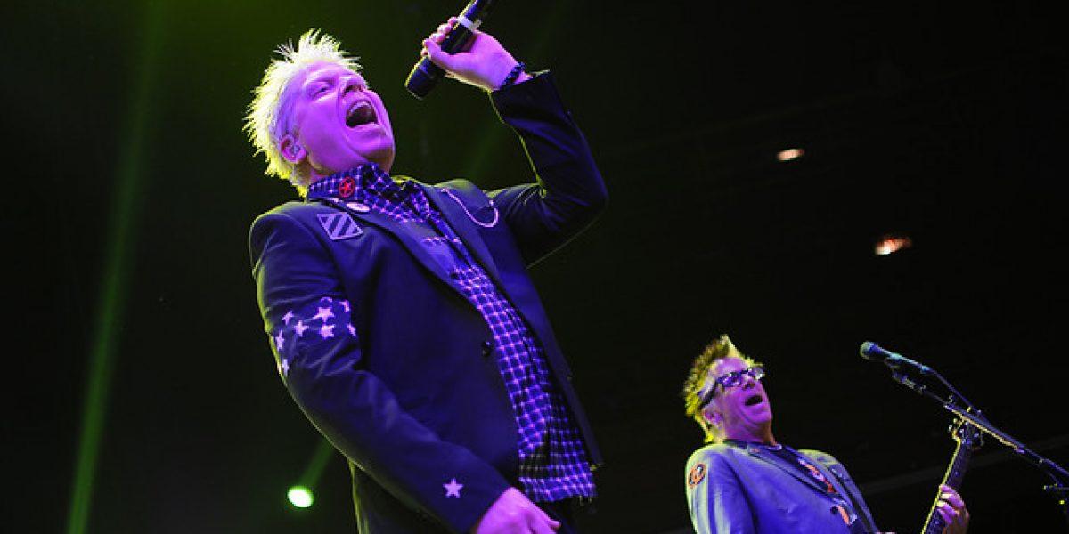 Con problemas en la entrada The Offspring se presentó en el Caupolicán