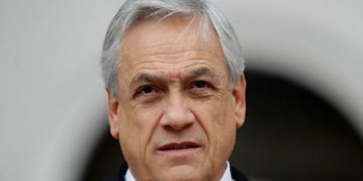 FOTOS: Piñera llama a