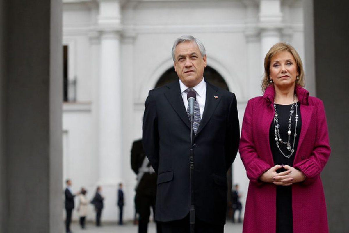 El Presidente de la República, Sebastián Piñera, junto a su esposa, Cecilia Morel, asistieron a una liturgia en la capilla del Palacio de La Moneda en conmemoración de los 40 años del 11 de septiembre de 1973. Imagen Por: