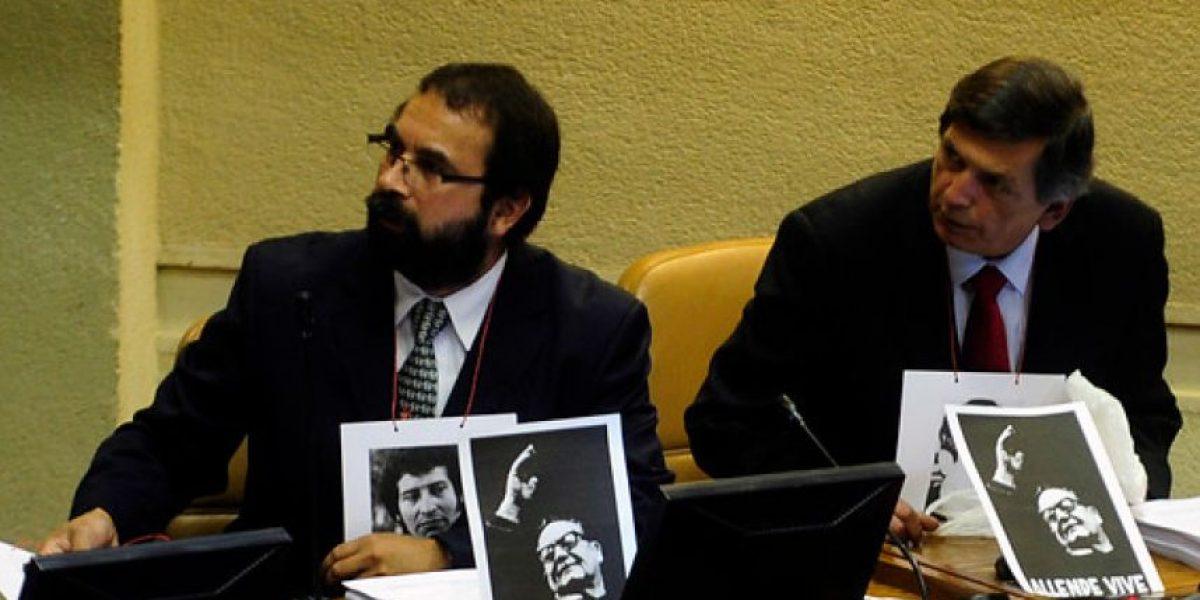 FOTOS: Así se conmemoró los 40 años del Golpe Militar en la Cámara de Diputados