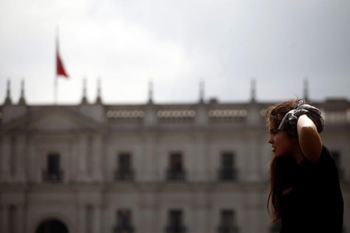 Diferentes intervenciones urbanas se han realizado en las calles de Santiago con el fin de conmemorar el 11 de Septiembre de 1973.. Imagen Por: