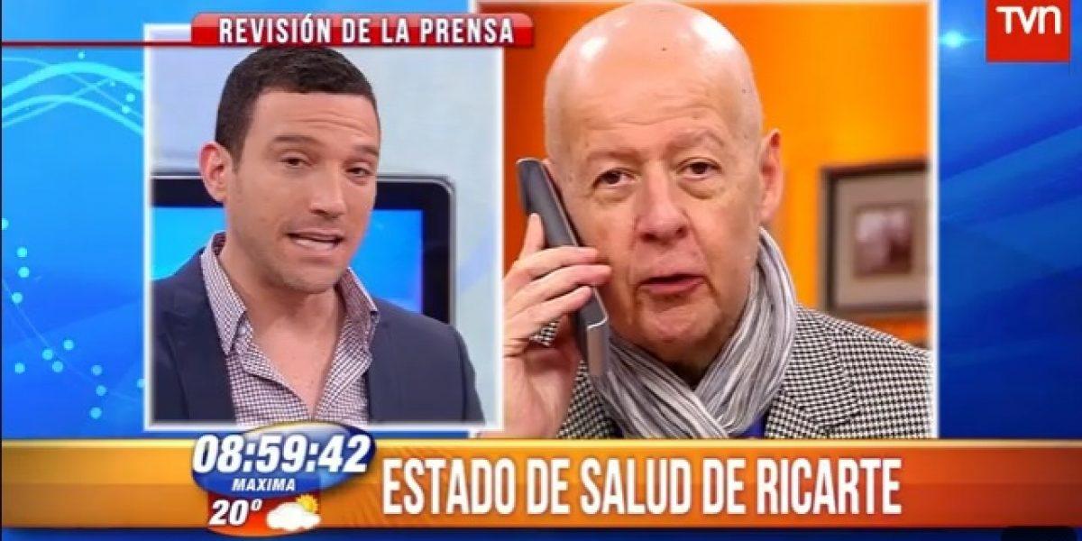 Julián Elfenbein pide respeto para Ricarte Soto